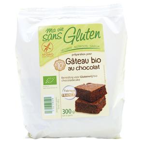 Préparation pour gâteau au chocolat sans gluten 300 g 975534