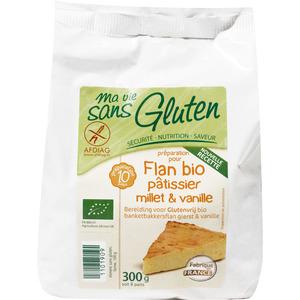 Préparation pour flan pâtissier au millet sans gluten 300 g MA VIE SANS GLUTEN