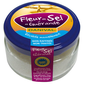 Fleur de sel de Guérande 80 g DANIVAL