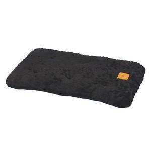 Coussin Snoozzy confort noir 74 x 45 cm