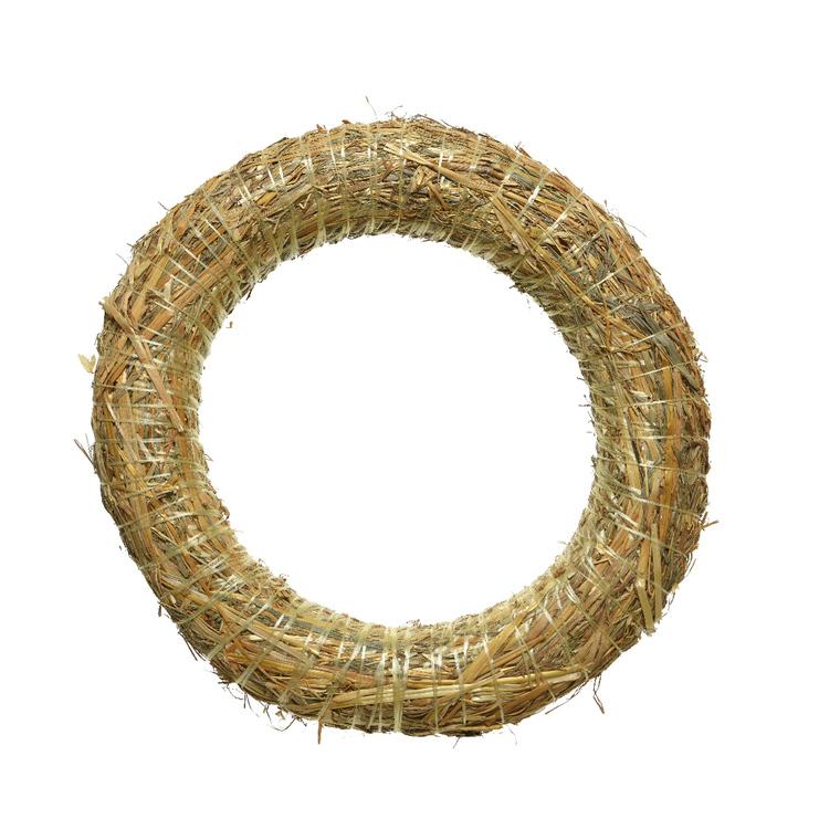 Couronne de paille diamètre 30 cm 900530