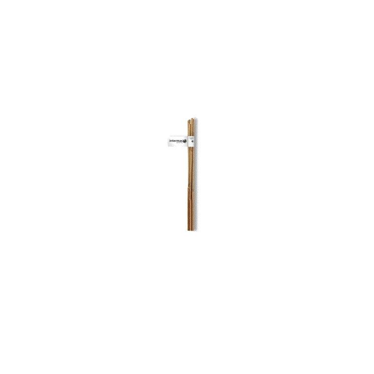 Tuteur bambou naturel coloris beige Ø 6/8 mm x 0,60 m 916530