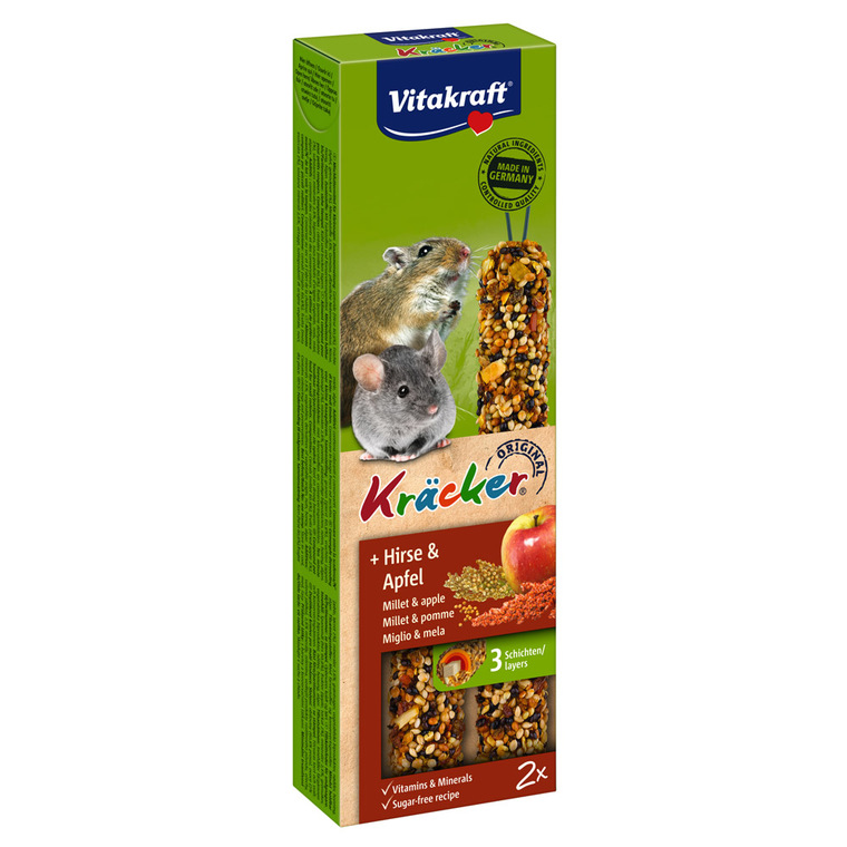 Kräcker souris x2 Corn & Fruit Vitakraft 60g 925879