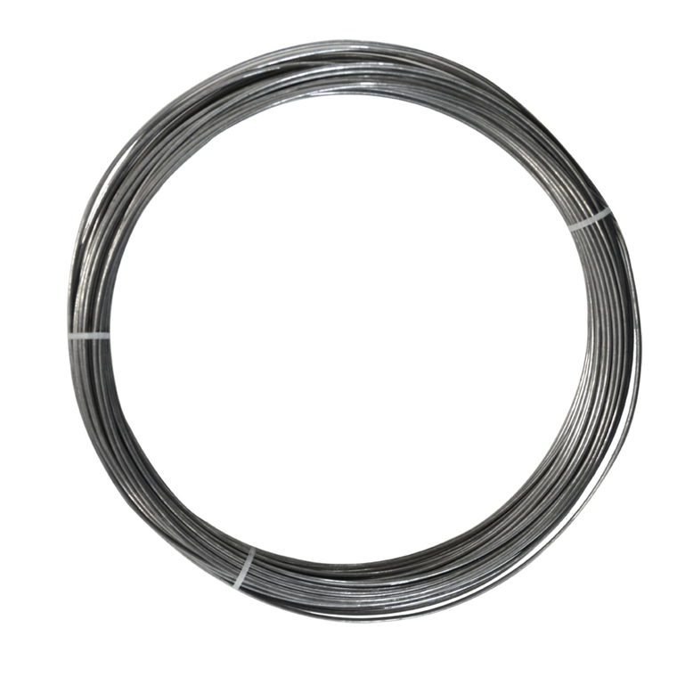 Fil de tension Galvawire Fer galvanisé Gris L50mx Ø1,3 mm 93986