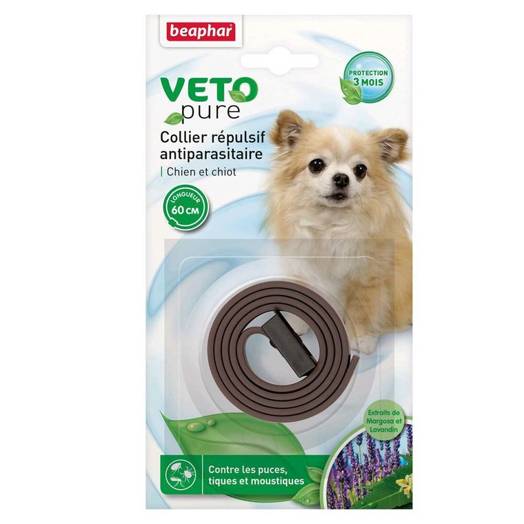 Collier insectifuge petits chiens/chiots Beaphar 956479