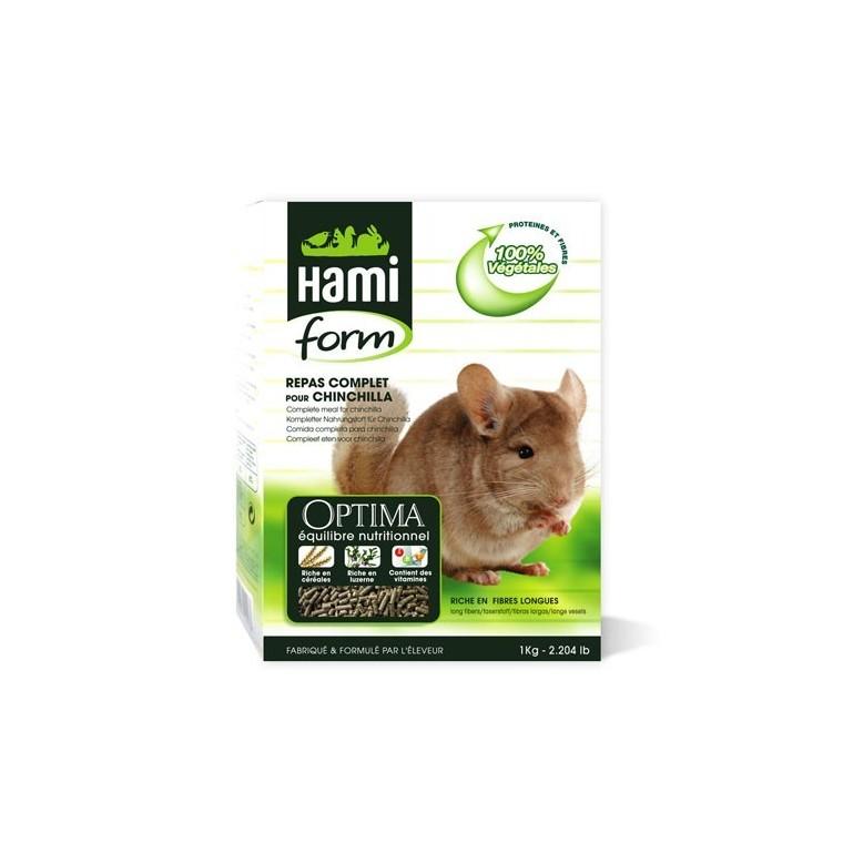 Repas complet chinchilla Hamiform 1kg 960974