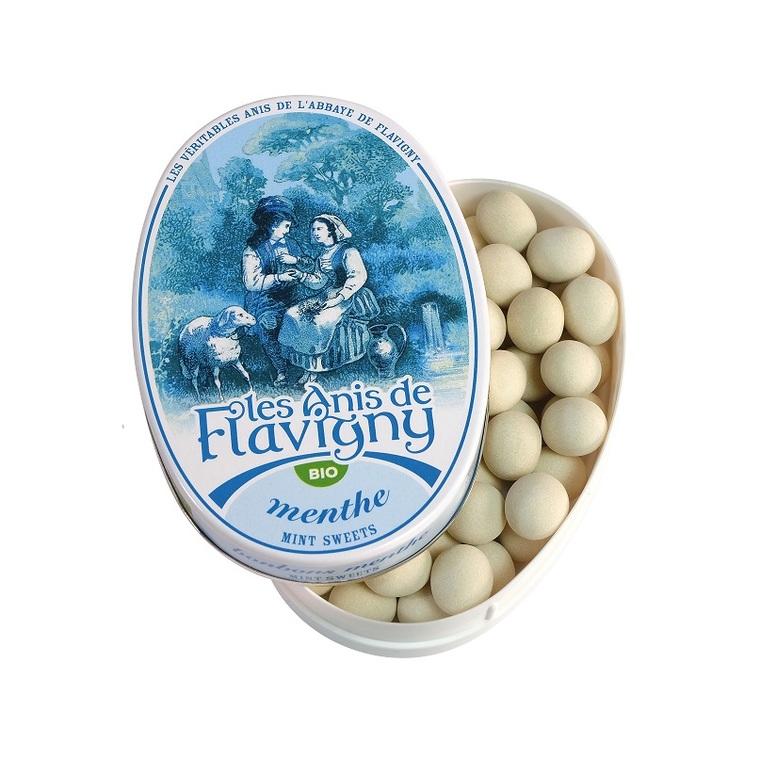 Bonbons à la menthe Bio - boîte ovale 50 g 98207