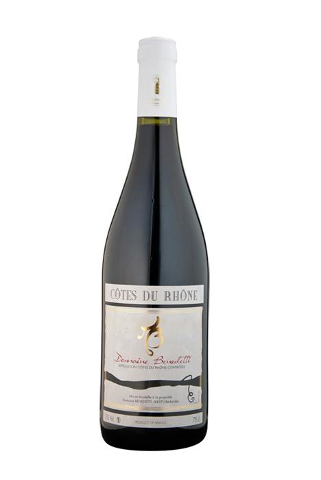 Côtes du Rhône Rouge - Le carton de 6 bouteilles