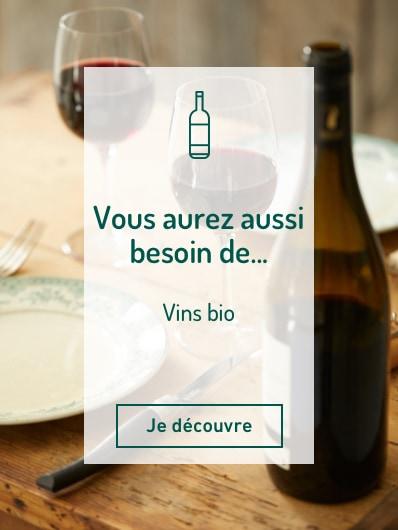 Découvrez également notre sélection de vins bio. Je découvre !