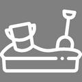 Pictogramme Botanic - Bacs à sable et tables de pique nique