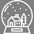 Pictogramme Botanic - Boules à neige pour Noël