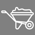 Pictogramme Botanic - Brouettes de jardin, chariots et accessoires