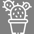Pictogramme Botanic - Cactus et plantes grasses