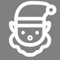 Pictogramme Botanic - Lutins de Noël, trolls de Noël et personnages au gros nez