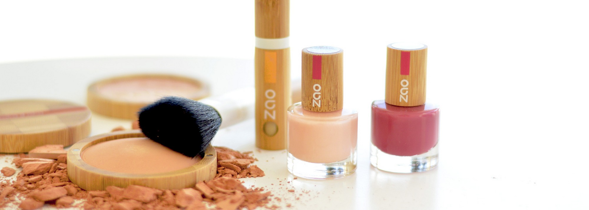 Zao, maquillage 100% naturel