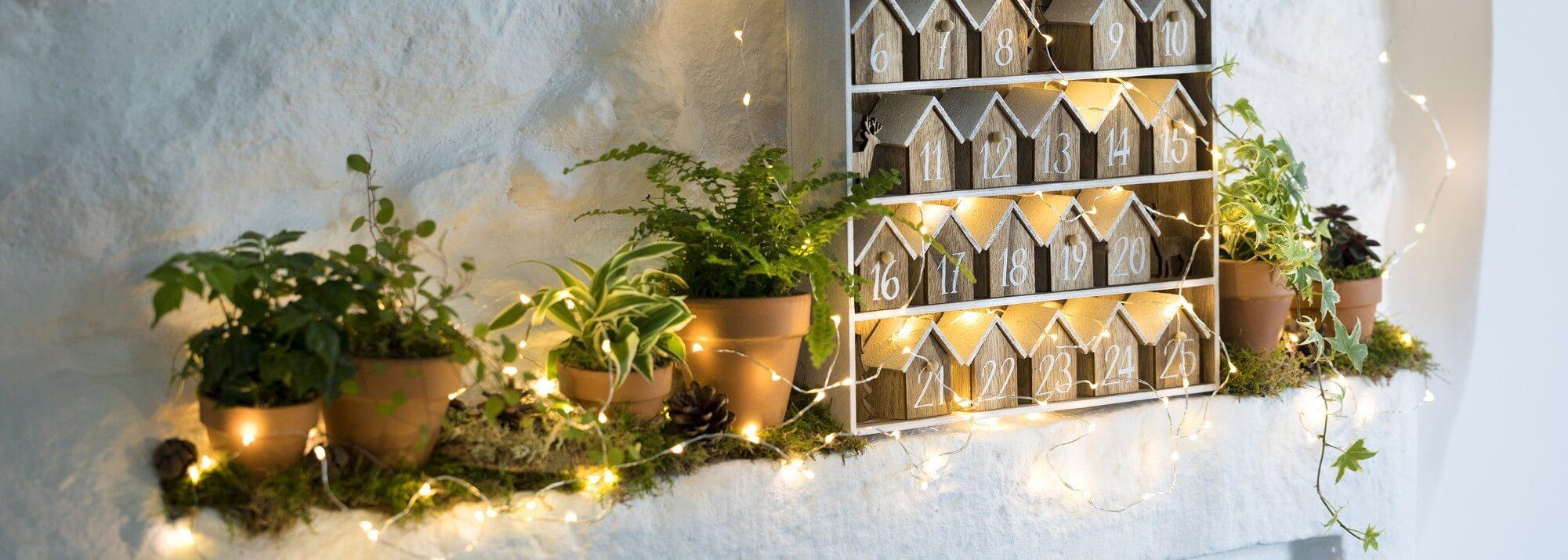 Calendriers de l'Avent et chaussettes de Noël