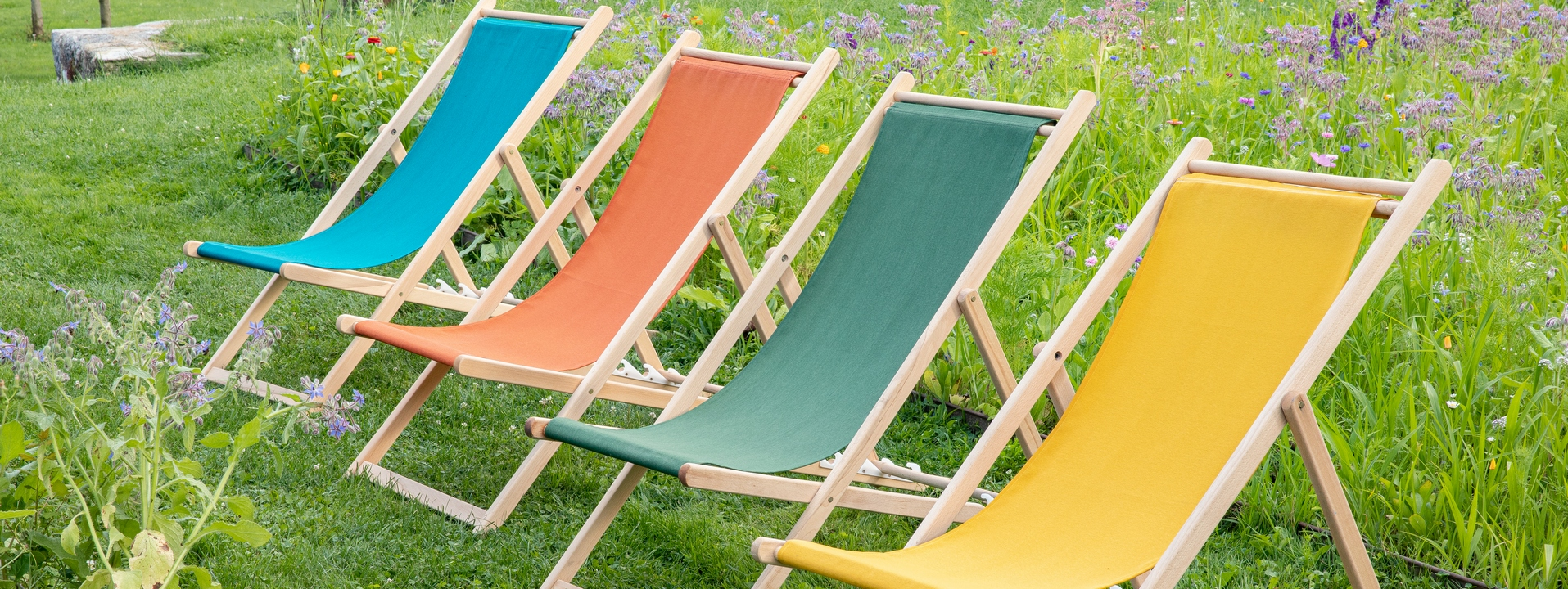 Chiliennes, relax et repose-pieds