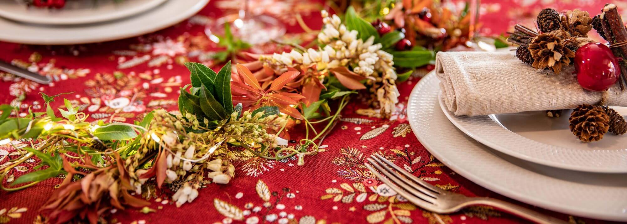 Linge de table de Noël