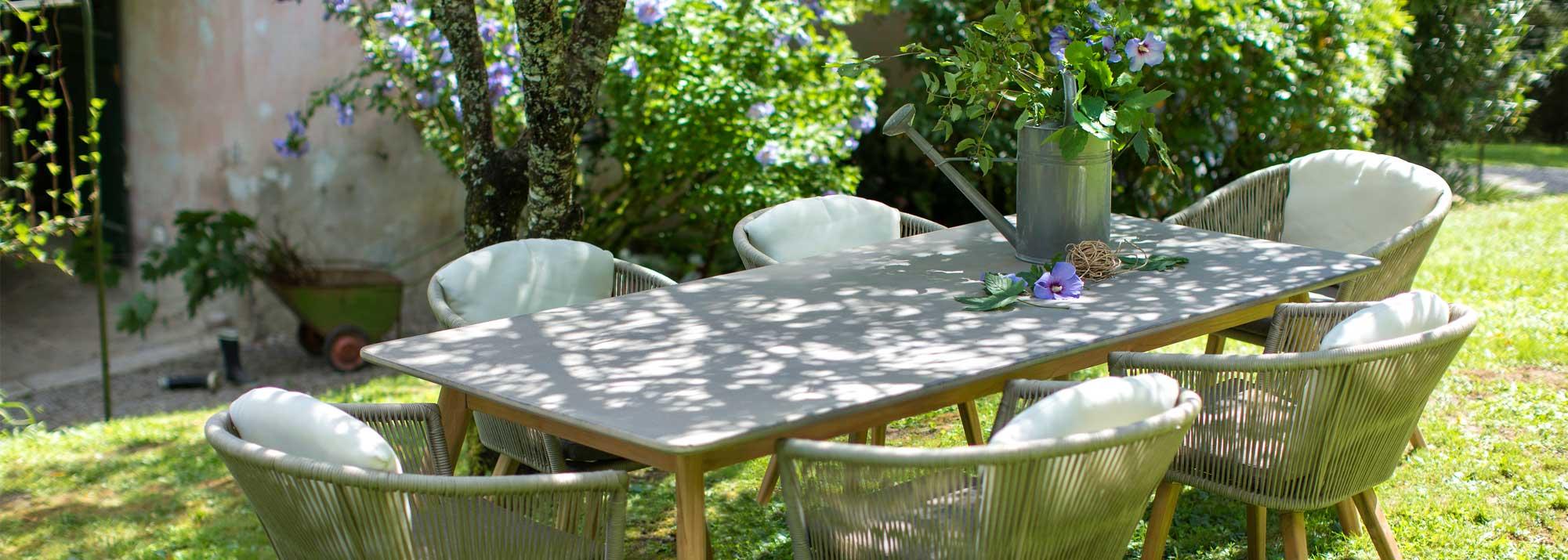 Table et chaise de jardin : Botanic®, ensembles repas et salon de ...