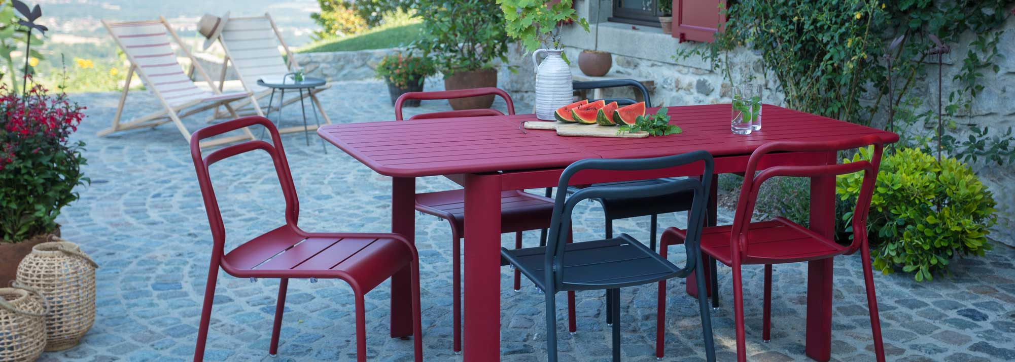 Table de jardin : Botanic®, tables de jardin en aluminium ...