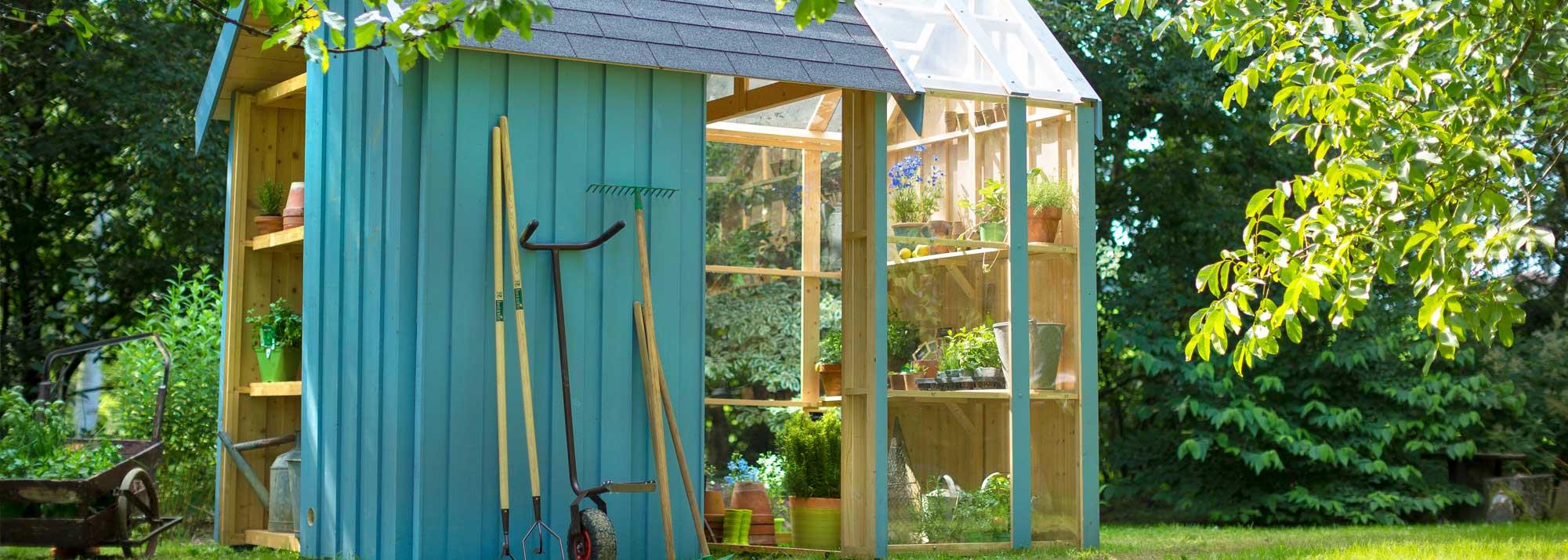 Abris de jardin et carports