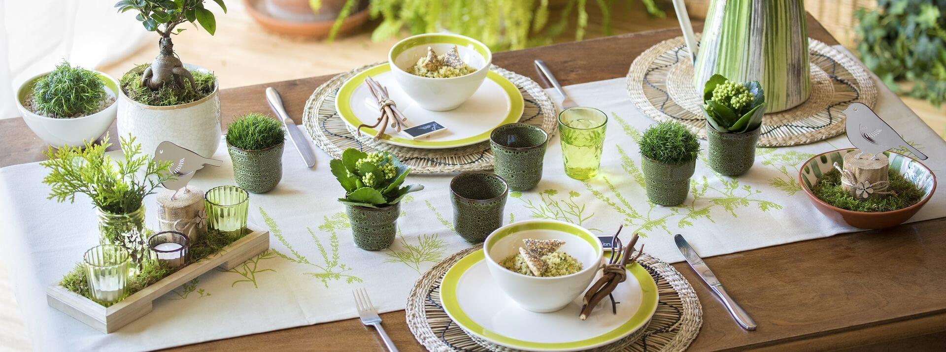 Sets de table et serviettes