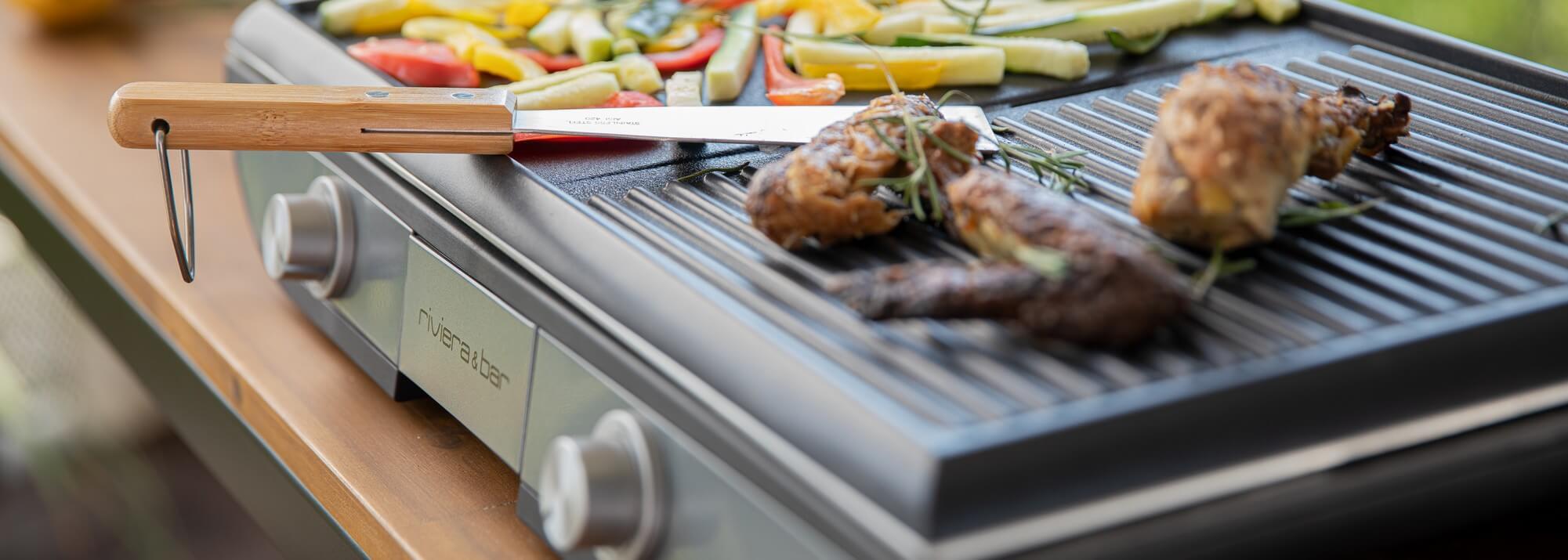 Ustensiles et accessoires pour barbecues et planchas