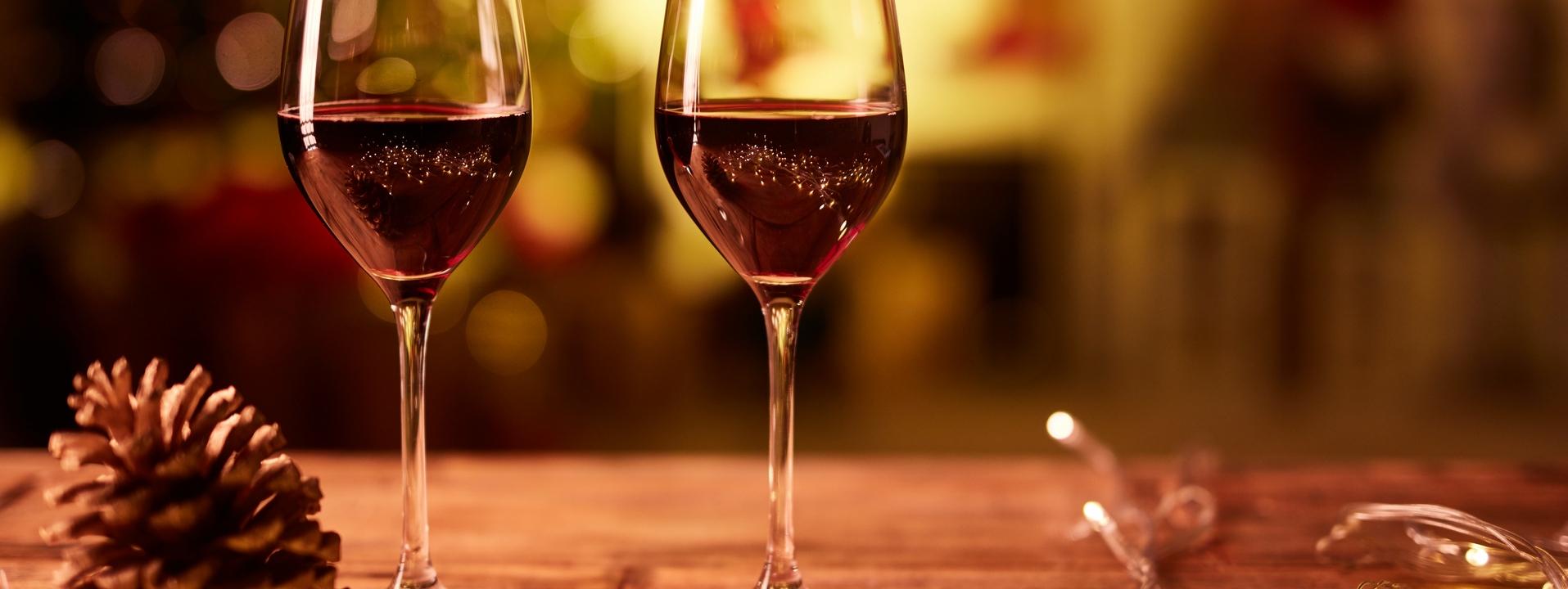 Vins chauds et cocktails festifs