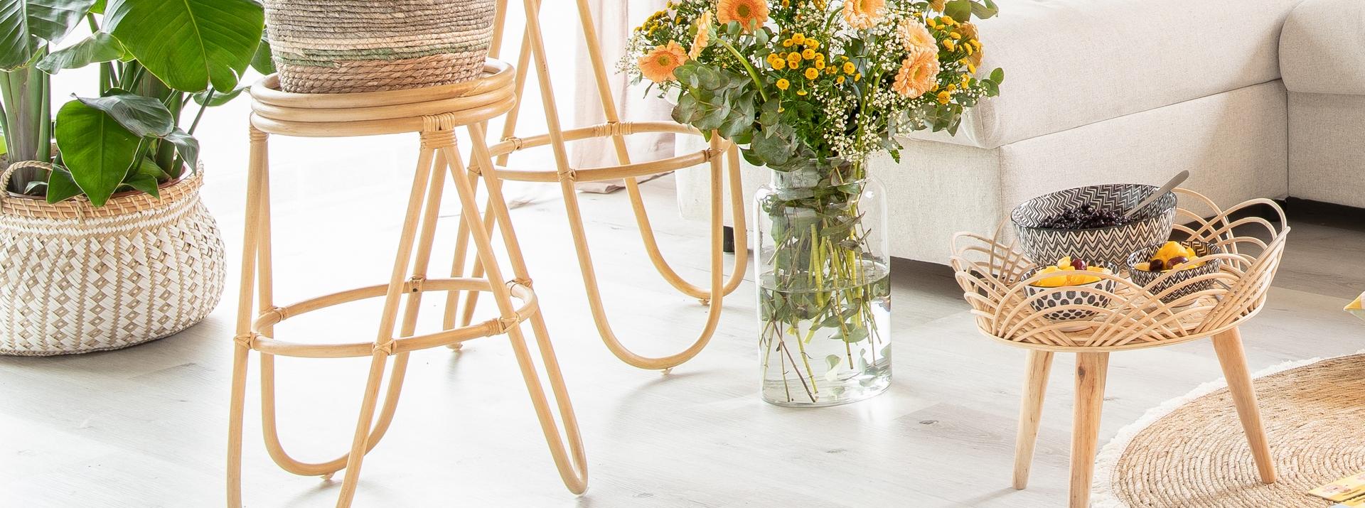 Fauteuils, tables basses et meubles d'appoint
