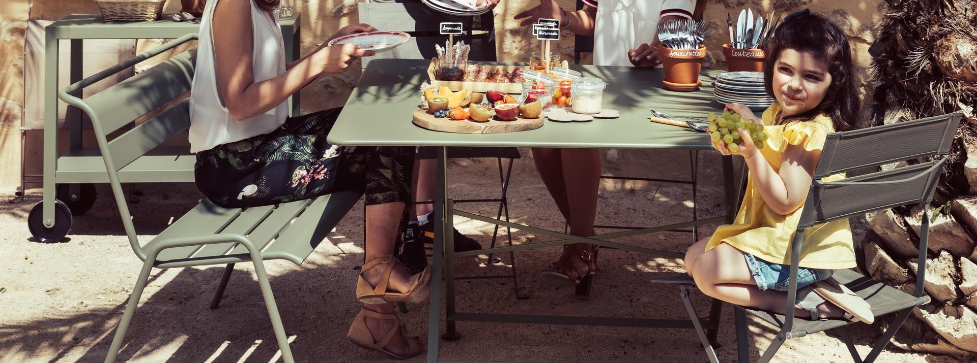 Tables de jardin Fermob