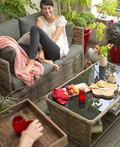 Un petit carré fruits, légumes et aromatiques sur son balcon