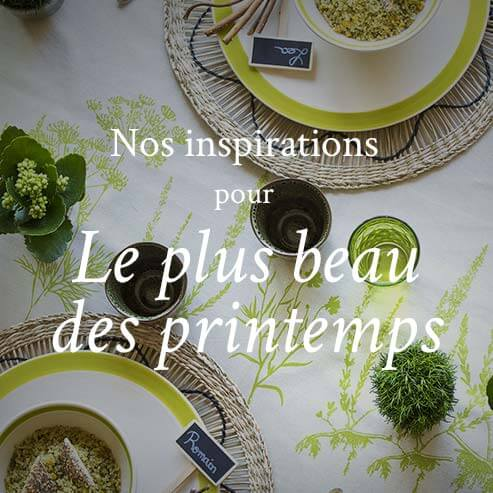 inspirations du printemps