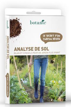 Le kit d'analyse de sol botanic®