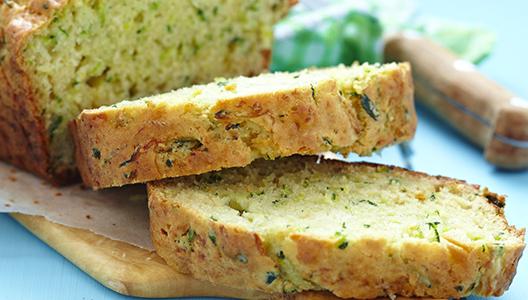 La recette facile du cake aux courgettes