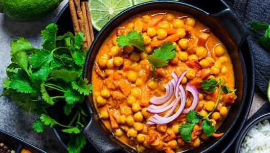 Curry de pois-chiches, une recette Veggie à accommoder à sa façon !