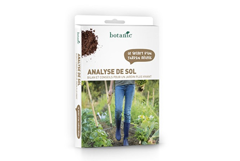 Le kit d'analyse du sol botanic®
