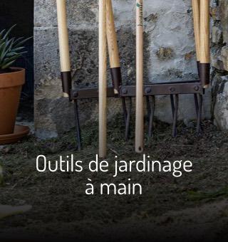 Outils jardinage main