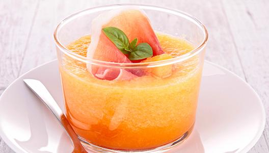 Idée recette : la soupe de melon