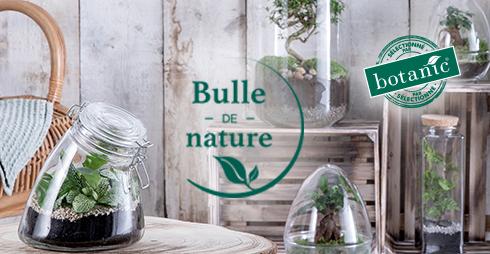 Bulle de Nature, la nouvelle collection de terrariums autonomes