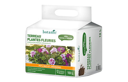Terreau plantes fleuries 10L