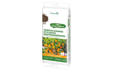 Terreau agrumes et plantes méditérranéennes 40L