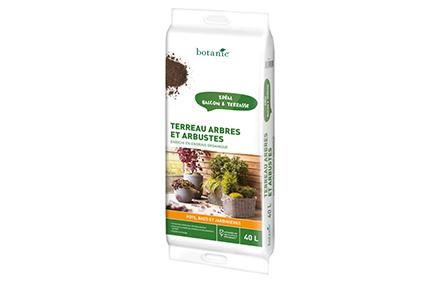 Terreau arbres et arbustes 40L