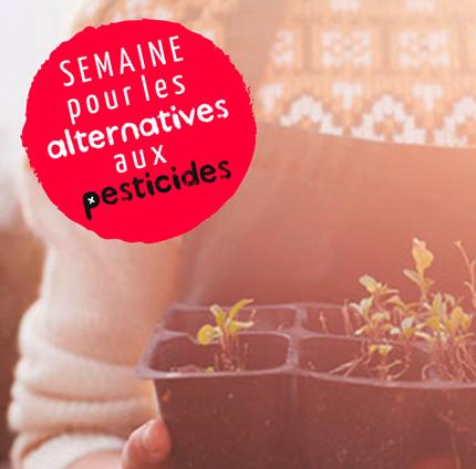 Un partenariat de longue date avec la semaine pour les alternatives aux pesticides
