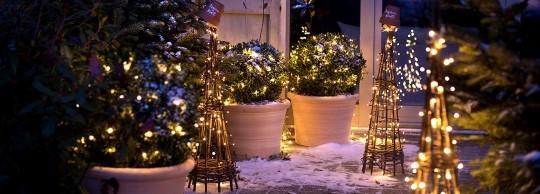 Decoration Balcon De Noel.Ambiance De Noel Exterieur Botanic