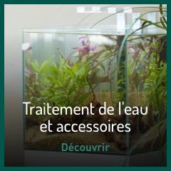 Traitement et entretien aquarium