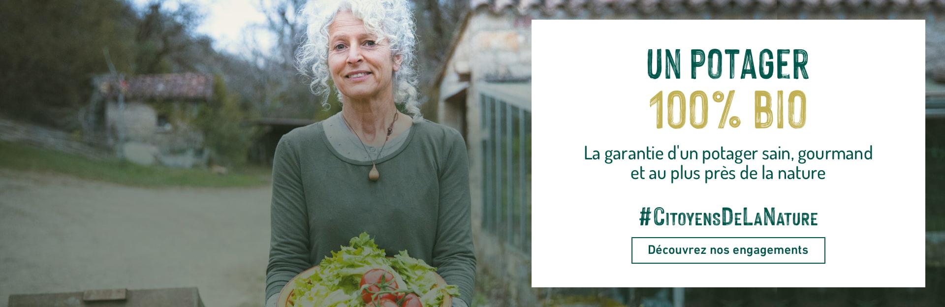 Un potager 100% bio - Consommer autrement