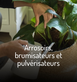 Accessoires d'arrosage des plantes d'intérieur
