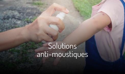 Solutions anti-moustiques