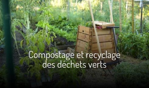 Compostage et recyclage des déchets verts