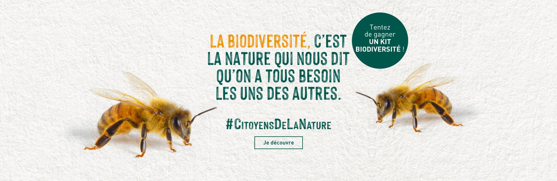 Invitez la biodiversité chez vous!